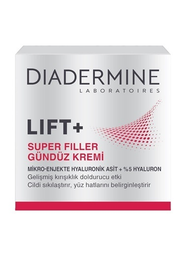 Diadermine Lift+ Super Filler Gündüz Kremi 50ml Renksiz